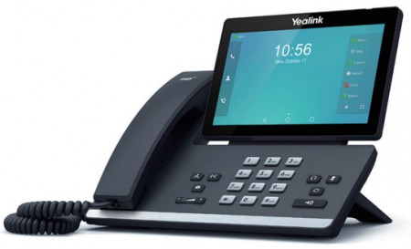Yealink SIP-T58V IP-Video Phone จอสี 7 นิ้ว Touch Screen HD 720p video call, Android