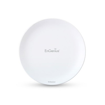 Engenius EnStation5-AC EnTurbo Outdoor 5 GHz 11ac Wave 2 Long-Range PtP Wireless Bridge