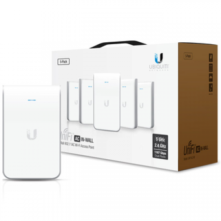 Ubiquiti UniFi AC IN-WALL Pack 5 (UAP-AC-IW-5)