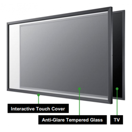 """Interactive Smart TV ขนาด 65"""" (2-in-1)"""