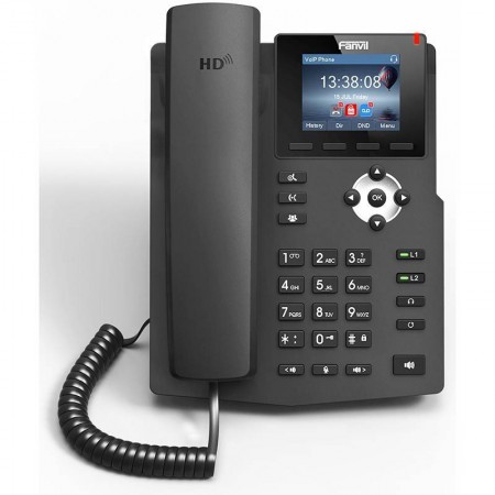 Fanvil X3SP IP-Phone 2 SIP Lines Account , HD Voice, จอ LCD Color 320x240 รองรับ PoE