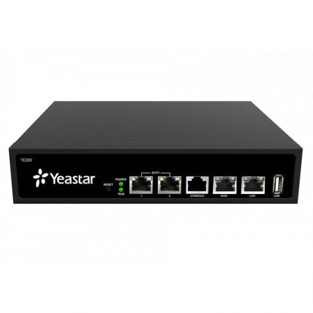 Yeastar TE200 E1/ T1 /J1 VoIP Gateway เชื่อมต่อเครือข่ายโทรศัพท์ E1/ T1 /J1 x2 Port