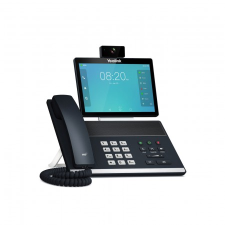 Yealink VP59 Flagship Smart Video Phone IP-Phone จอสี 8 นิ้ว Touch Screen Android OS